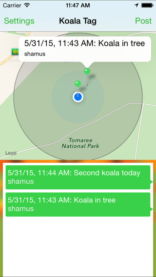 Koala Tag screenshot 2
