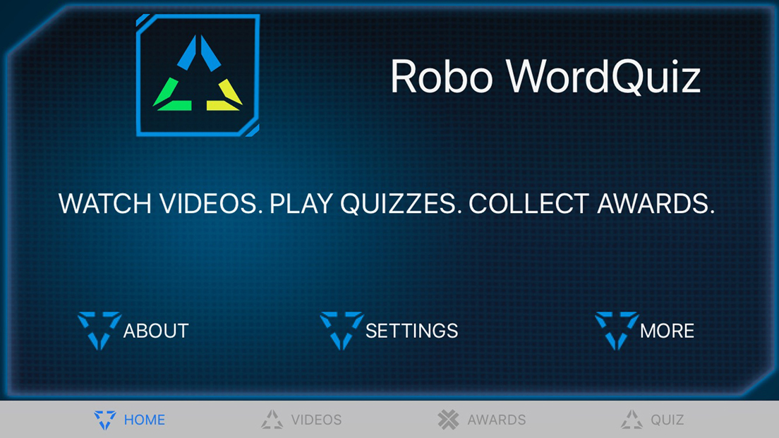Robo WordQuiz screenshot 1